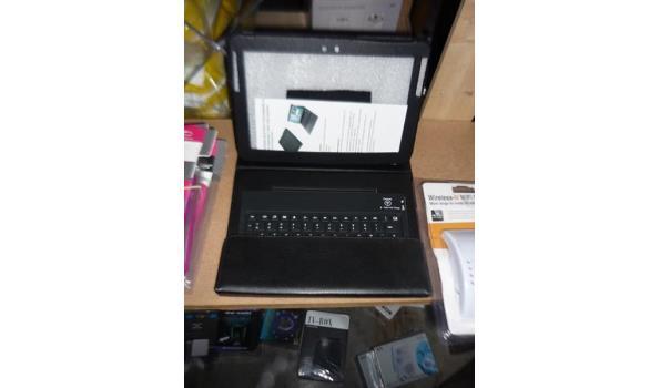 Tablet case met toetsenbord