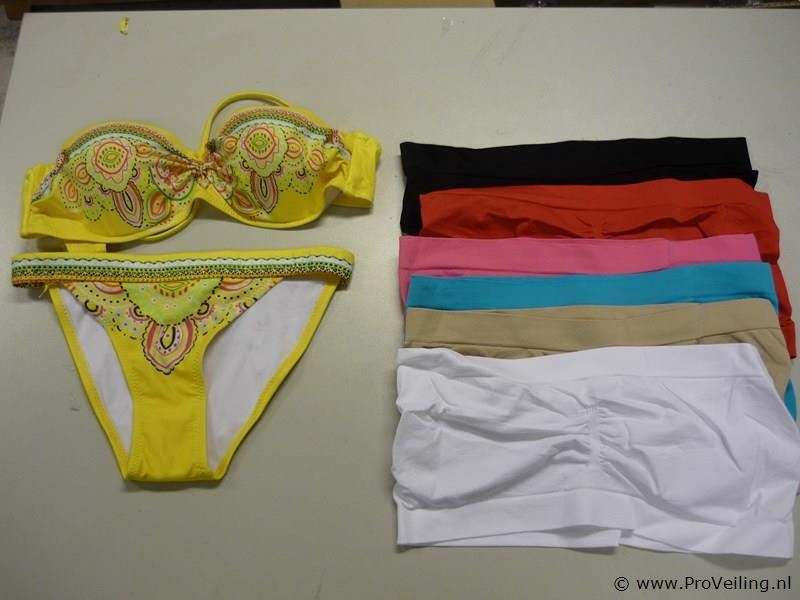 Bikini en strapless BH