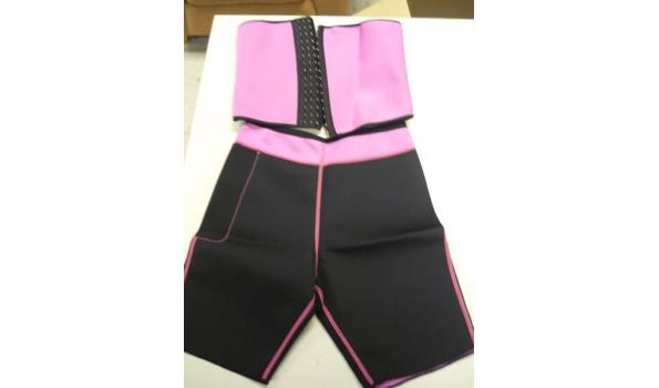 Slimming belt en slimming shorts