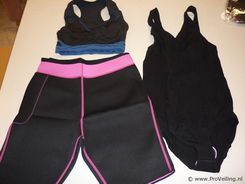 Slimming broek, badpak, Sport BH