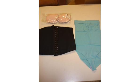 Slimming belt, slimming badpak en BH