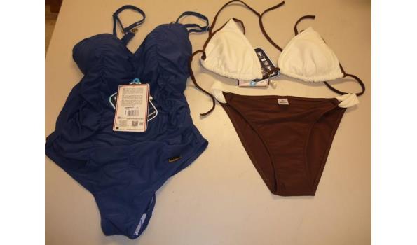 Badpak en bikini