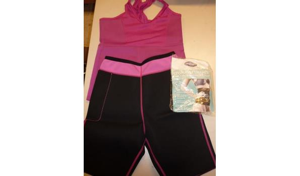 Slimming shorts, slimming top en slimming belt