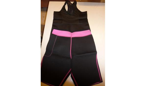 Slimming top en slimming shorts
