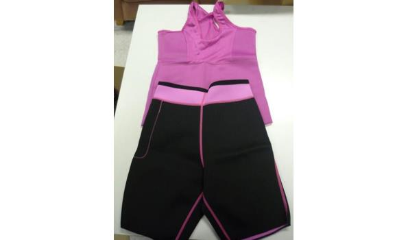 Slimming shorts en top