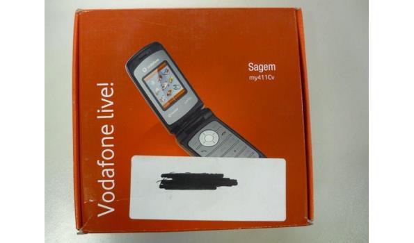 Vodafone Sagem mobiel