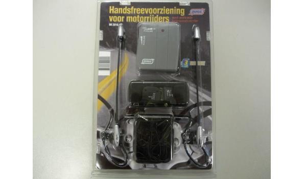 Handsfree voorziening motorrijders