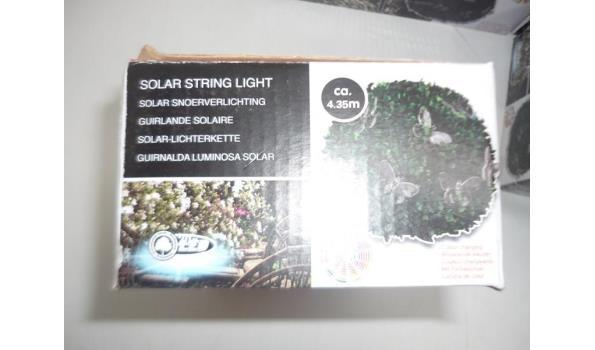 Solar led verlichting