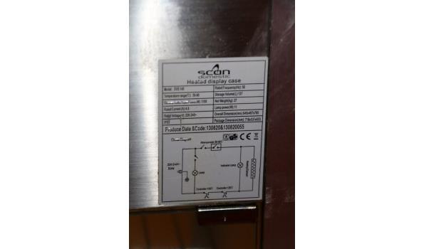 Scan warmhoudvitrine - 84,5x47x79cm