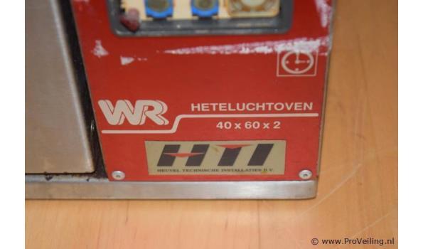 WR heteluchtoven - 90x53x45cm
