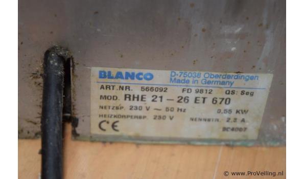 Bordenwarmer merk BLANCO