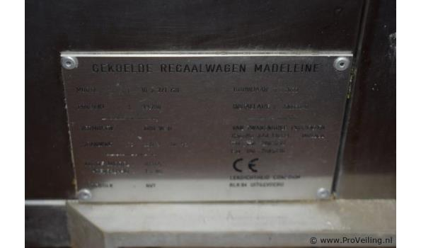Madeleine regaalwagen - 10 2/1 GN