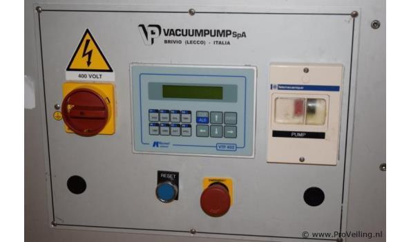 VacuumpumpSpA GV51 krimpfolie wikkel-/inpakmachine