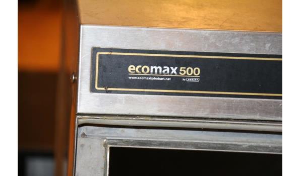 Ecomax 500 spoelmachine - 58x63x130cm