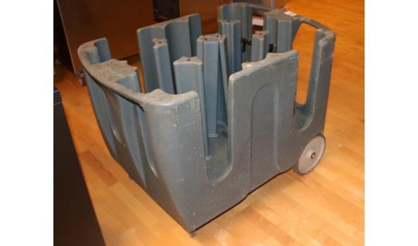 Carlisle bordenhouder - 110x70x80cm.