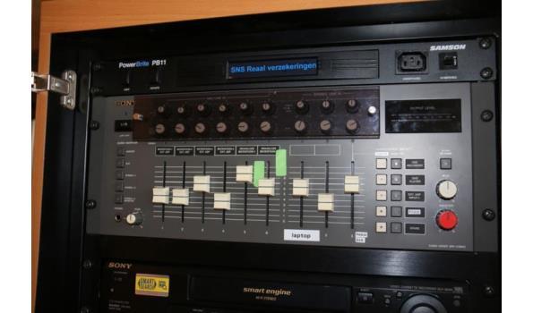 Sony audio mixer - SRP-X3900