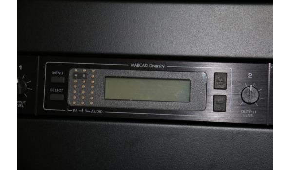 Shure UHF draadloze ontvangers