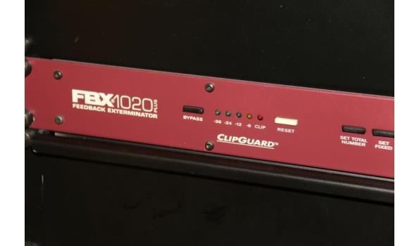 Clipguard feedback exterminator - FBX1020 plus