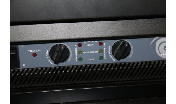 D.A.S. electronic series - high performance power amplifier