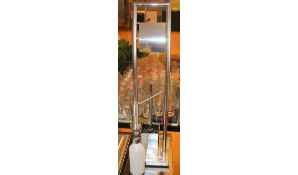 Sanitair benodigdheden - closetrol- wc borstelhouder en zeeppomp