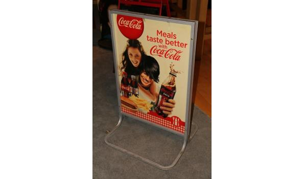 Coca Cola stoepbord