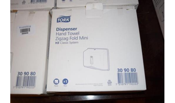 Tork handdoekdispensers - zig zag fold mini