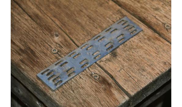 Steigerhouten buitentafel - 197x98x67cm