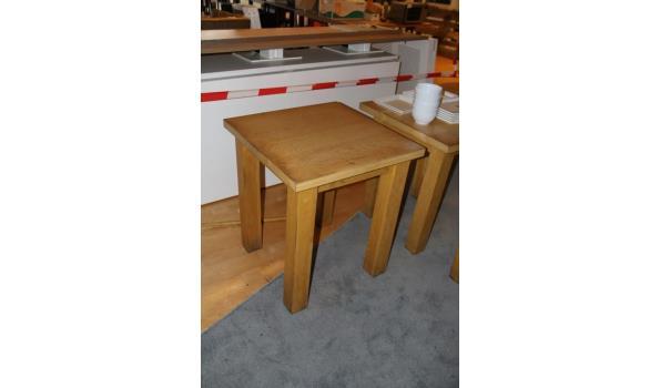 Houten tafel - 70x62x78cm