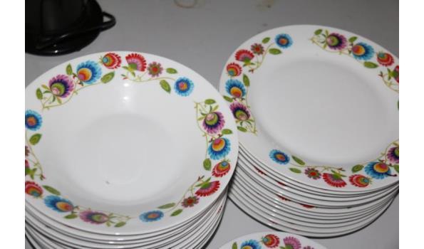 Servies - diepe, platte en ontbijtborden