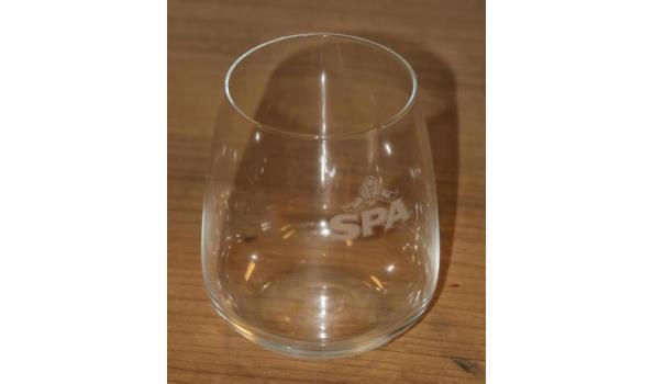 Spa glazen en Wieckse glazen