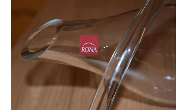 Rona wijnkaraf - liggend design model