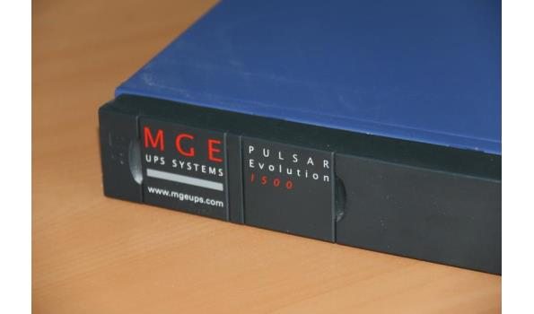 MGE UPS Systems Pulsar Evolution 1500 Rack Manuals and ...