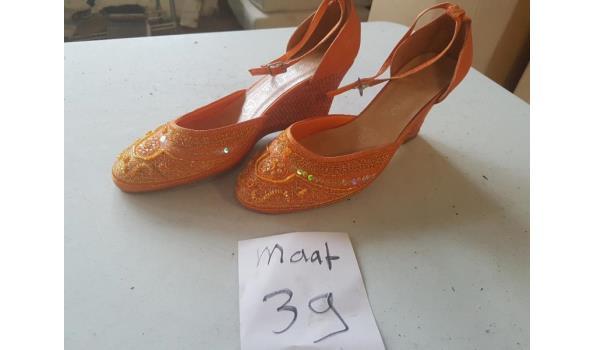 oranje damesschoenen maat 39