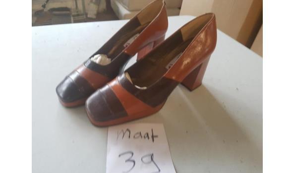 bruine damesschoenen maat 39