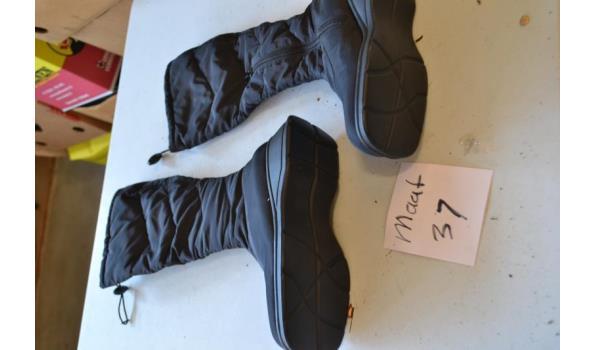 zwarte dames laarzen maat 37