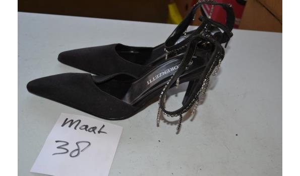 zwarte damesschoenen maat 38