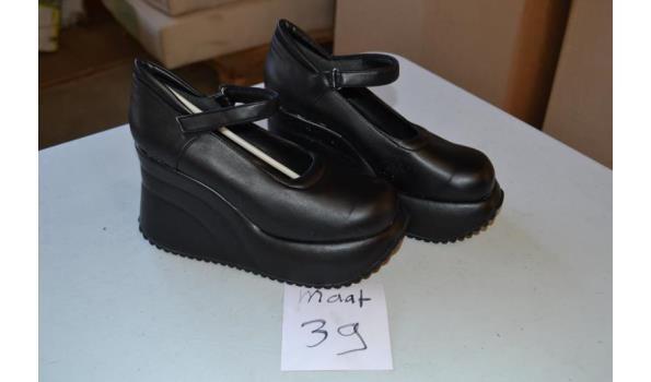 zwarte damesschoenen maat 39