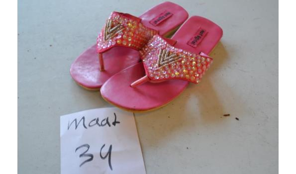 kinder slippers maat 34