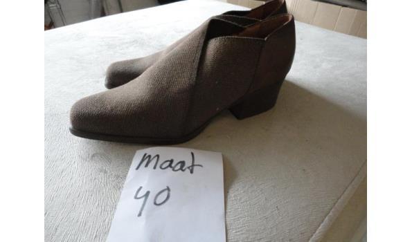 bruine dames schoenen maat 40