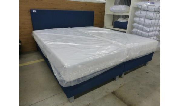 Comfort boxspring Blauw 180 x 200