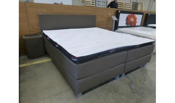 Comfort boxspring Bruin 180 x 200
