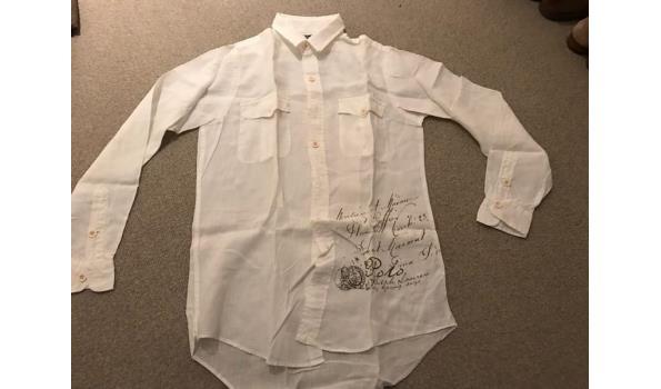 Linnen Overhemd Wit.Ralph Lauren Linnen Overhemd Wit Proveiling Nl
