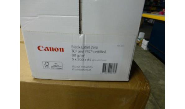 Pallet Canon kopieerpapier