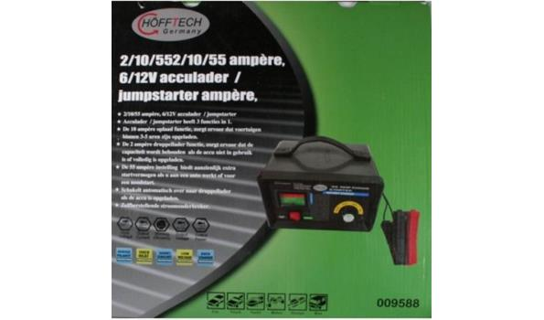 Acculader/jumpstarter