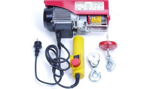 Takel Elektrisch 125-250 KG