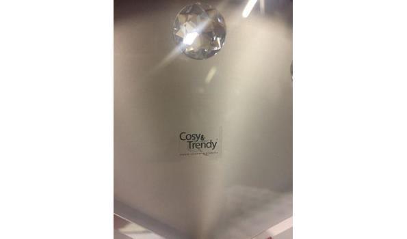 Cosy & Trendy klok 3 stuks