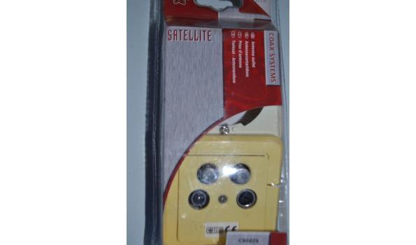 antenne contactdoos