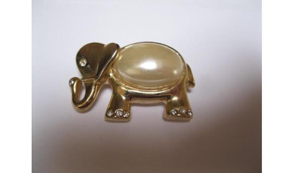 olifanten broche
