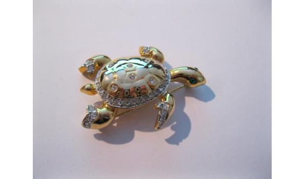 schildpad broche