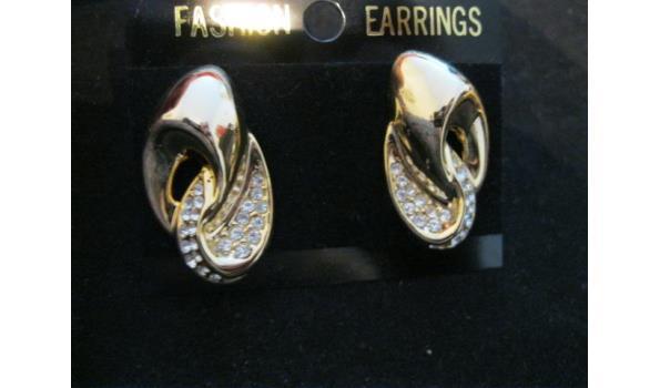 hoogwaardige bling bling oorbellen